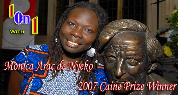 Ugandan Writers: One on One with Monica Arac de Nyeko, 2007 Caine Prize Winner
