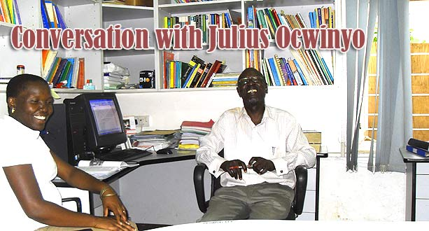 Conversation with Julius Ocwinyo
