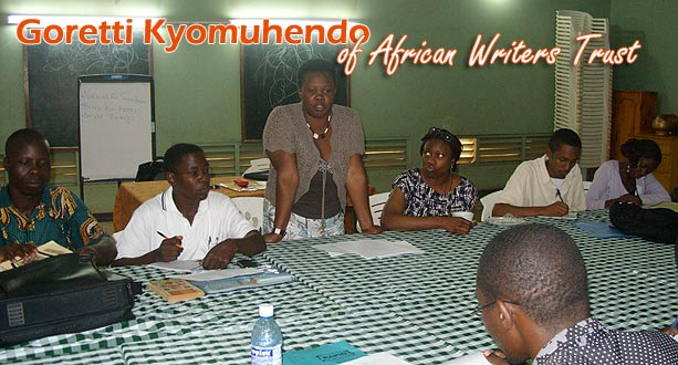 Goretti Kyomuhendo of African Writers Trust