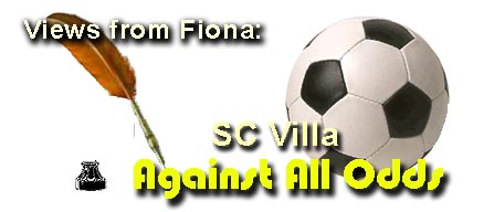 Views from Fiona: Against All Odds