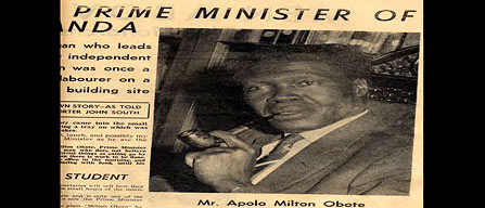 Obote: The Premier's Own Story