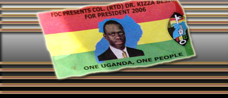 Uganda Elections 2006: Besigye Strong Contender for the Uganda Presidency
