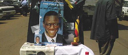 Uganda elections 2006: Symbols, Effigies a Big Campaign Tool as Musevenism, Besigyesm Take Root
