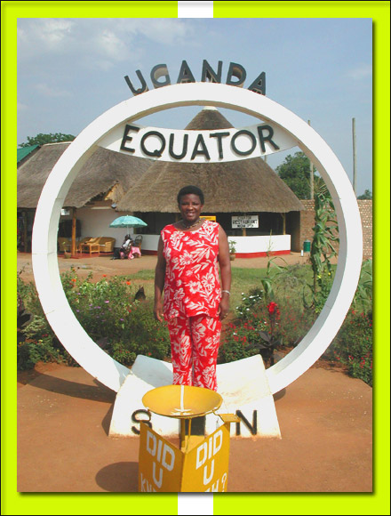 Mercy at the equator