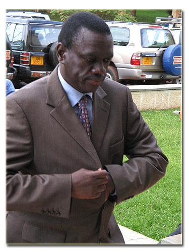 Besigye at Court