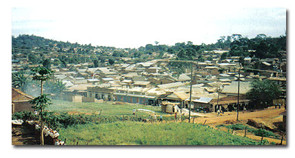 Kikoni: one of Kampala's suburbs being built on without proper development