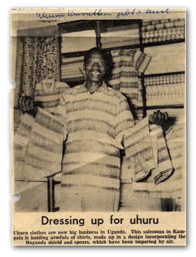 Cuttings from the Uganda Urgus: Uganda is now preparing for 'UHURU'
