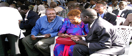 Even a Shadow Cabinet Causes Controversy in Uganda
