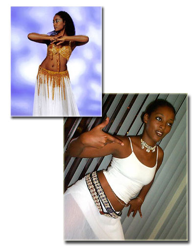 Saba Alemayehu Asfaw - Belly dancing and Congolese