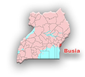 Busia- eastern part of Uganda at the border of Uganda with Kenya