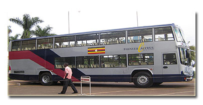 May 2006: A new bus company was launched at the Sheraton hotel in Kampala