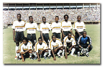 Uganda Cranes- the national soccer team was doing well during Idi Amin's regime