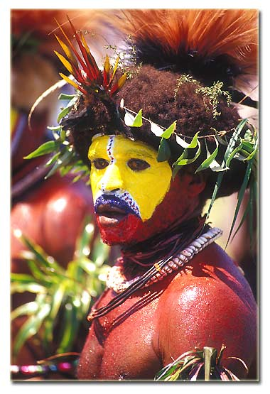 Huli Wigman from the Southern Highlands of Papua New Guinea.