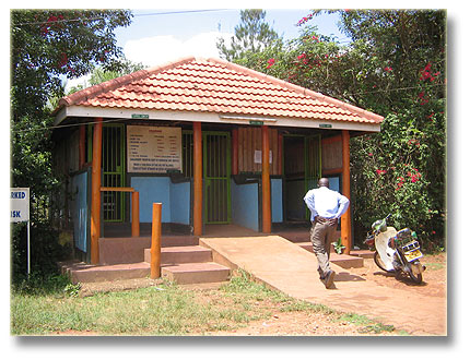 The small house at Kiwatule Recreation Center