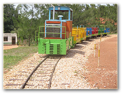 Kakira Express at Kiwatule Recreation Center:Click to Enlarge