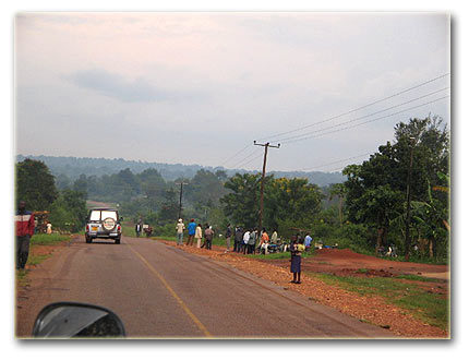 The Kampala Kalagala road