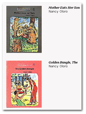 Mother Eats Her Son and The Golden Bangle by Nancy Oloro