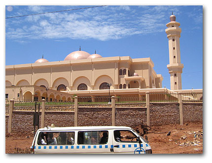 The new National Mosque in Kampala