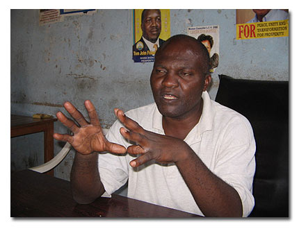 Local Council 1 chairman of the Kimwanyi zone, Hassan Wasswa