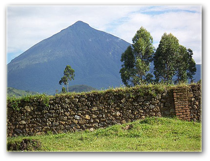 Muhabura Mountain in Kisoro