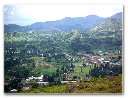 Town of Kisoro