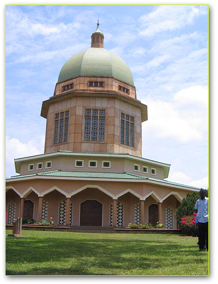 The Bah�'� Temple on Kikaya hill