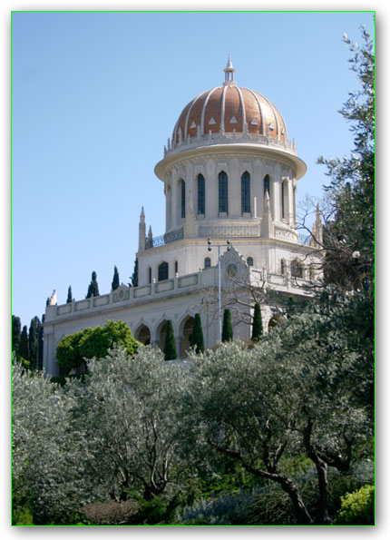 The Bah�'� World Centre in Haifa, Israel