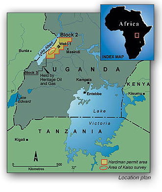 Hardman Resources: Oil in Uganda