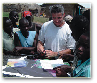 Hardman Resources: Oil in Uganda, Drilling Manager meets with local communities