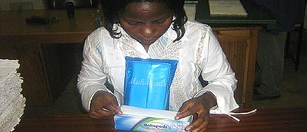 Makapads: Makerere University Makes Affordable Sanitary Pads