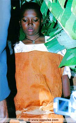 Image of Young girl dressed in Ekifundikwa