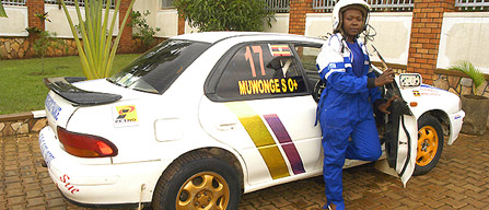 Susan Muwonge Changes the face of Motor Sport in Uganda