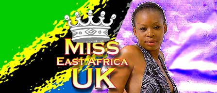 Miss East Africa UK: Vote for Nadia Simba from Tanzania