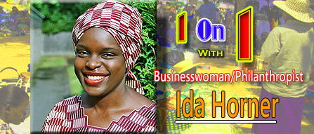 One on One with Businesswoman and Philanthropist Ida Horner