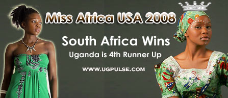 South Africa's Nyasha Zimucha Wins Miss Africa USA 2008, Uganda is 4th Runner Up