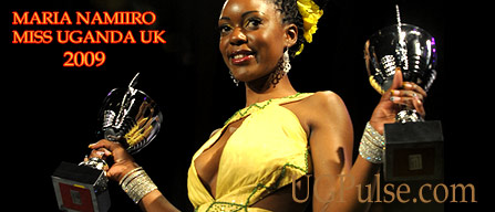 Maria Namiiro is Miss Uganda UK 2009