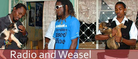 Radio and Weasel: Living the Good Life