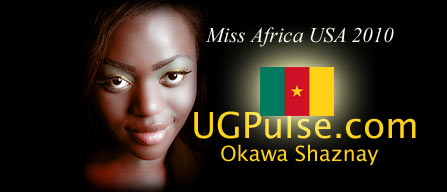 Miss Africa USA 2010: Contestant Okawa Shaznay from Cameroon