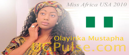 Miss Africa USA 2010: Contestant Olayinka Mustapha from Nigeria