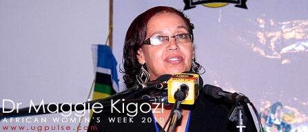 Dr. Maggie Kigozi - African Women's Week 2010