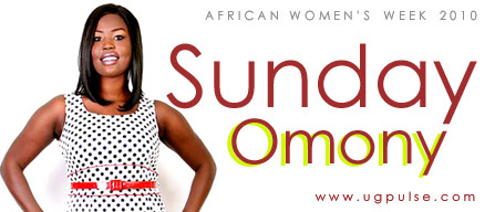 Sunday Omony - Ugandan Queen of Comedy on African Women's Week 2010