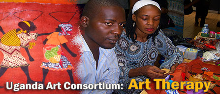 Uganda Art Consortium - Art Therapy